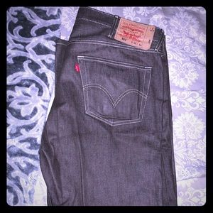 Levi 501 grey jeans 40x34